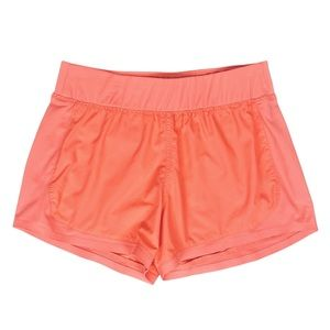 Athleta Stellar Athletic Coral Running Shorts S